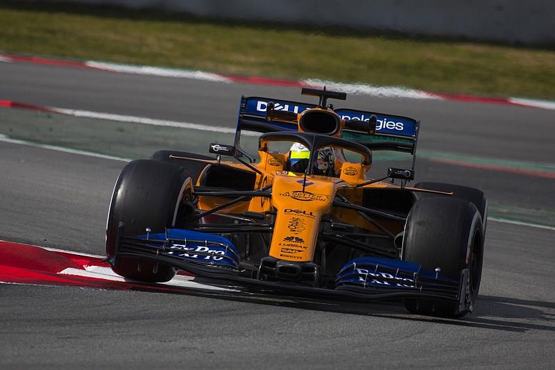 Norris zet McLaren bovenaan op openingsdag tweede wintertest, tweede tijd Gasly