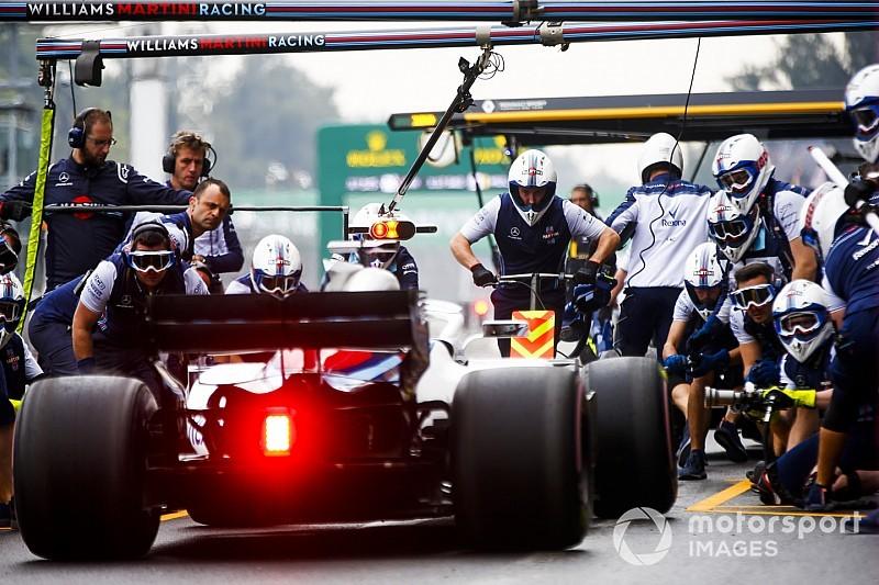 Williams güvensiz pit stoptan ötürü para cezası aldı