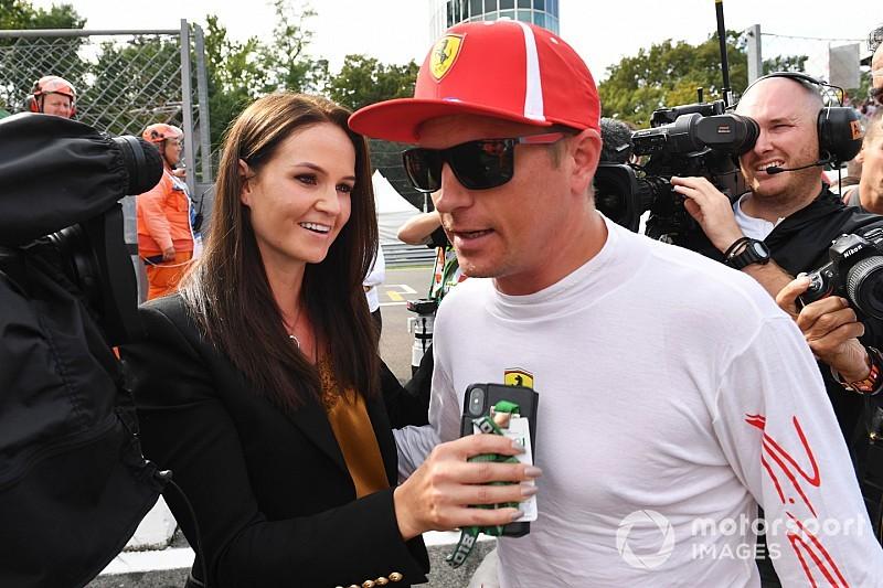 A nő, aki megváltoztatta Kimi Räikkönent