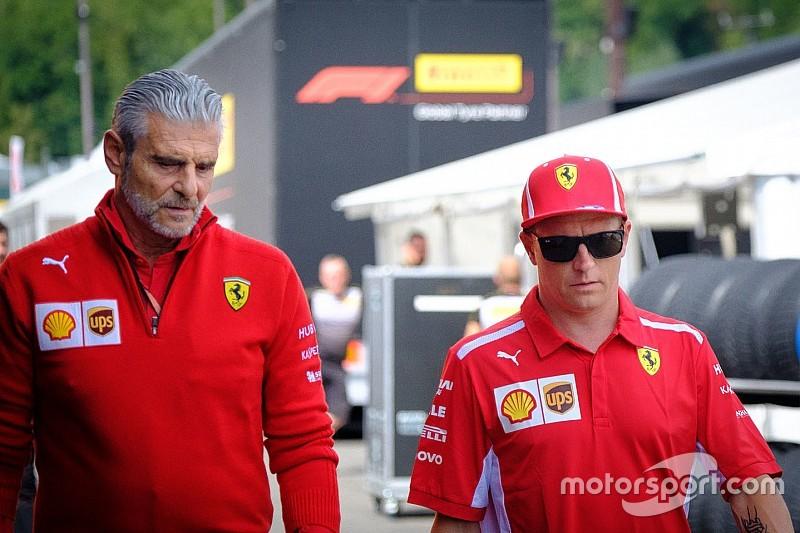 Arrivabene: Räikkönen n'a même pas essayé de me faire changer d'avis