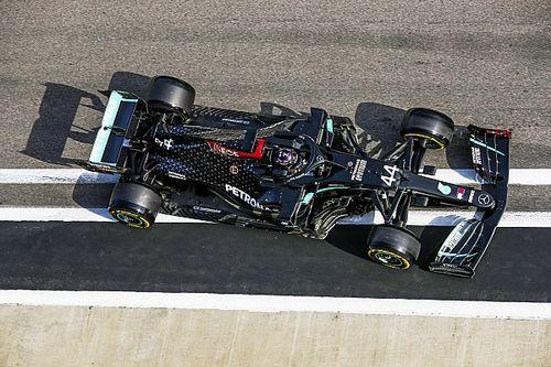 Cómo Hamilton libró una penalización mayor en la calificación en Rusia