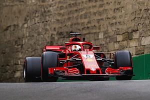 Fórmula 1 Noticias Vettel dice que el Ferrari va bien en Bakú, pero él no