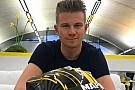 Formule 1 Nico Hülkenberg présente son nouveau casque