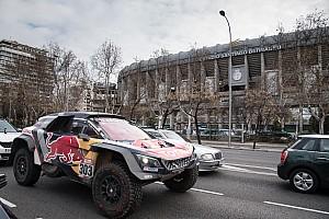Madridban parádézott a Dakar győztes párosa
