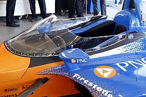 IndyCar Noticias IndyCar realizará un nuevo test del parabrisas