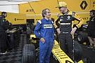 Fórmula 1 VIDEO: Prost y Hulkenberg en el Roadshow en Niza