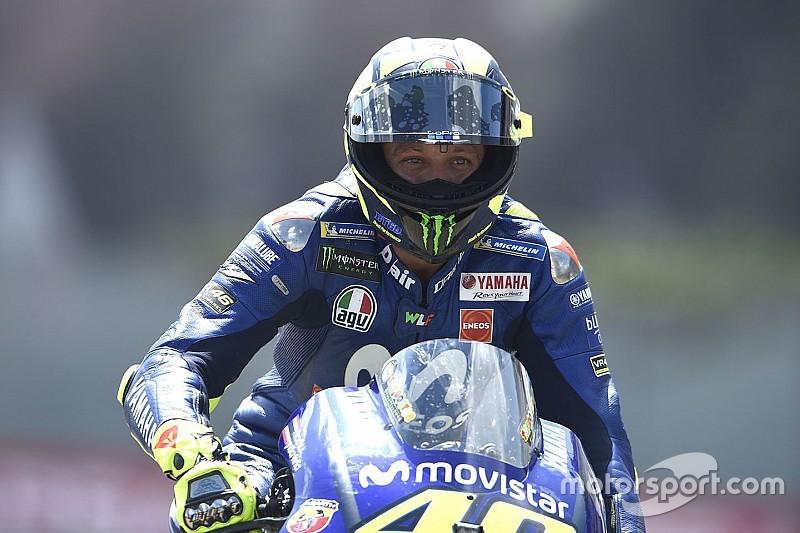 Honda-Ducati lebih unggul, Rossi terbantu sirkuit