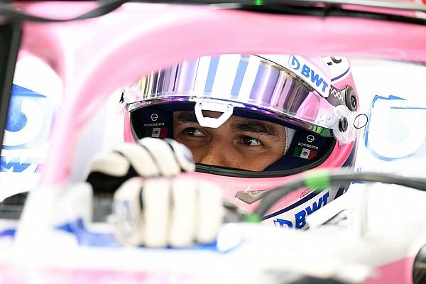 Formule 1 Perez snapt niets van straf voor inhalen Hartley tijdens opwarmronde