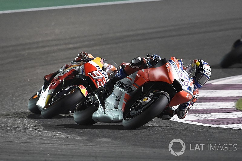 Dovizioso ne s'attendait pas à finir la course avec Márquez