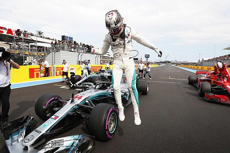 GP Perancis: Mercedes 1-2, Hamilton rebut pole ke-75