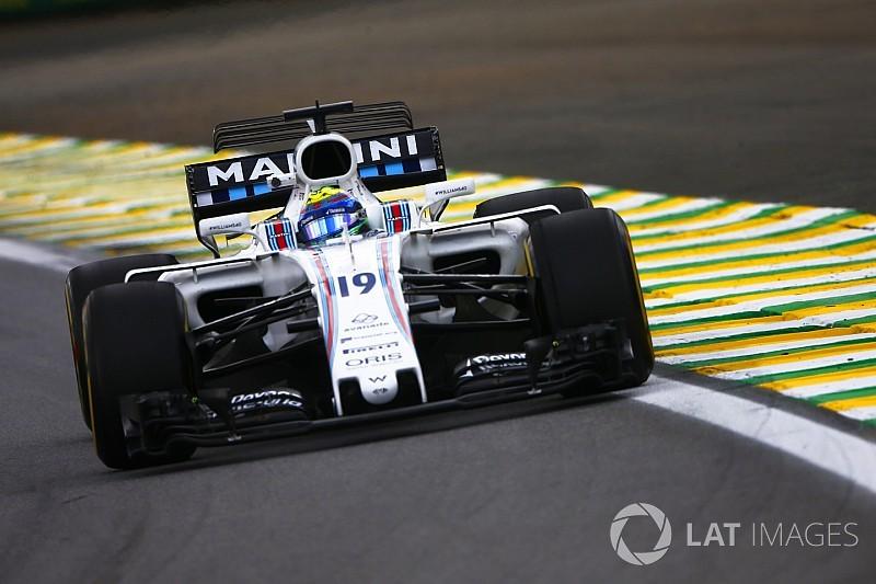 Massa: Williams Brezilya'da rakiplerinin gerisinde değil