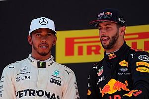 Formule 1 Réactions Premier podium pour un Ricciardo qui envie Hamilton et Vettel