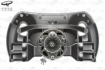 Formula 1 Anteprima Mercedes: nel paddle della frizione si infilano due dita!