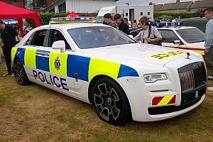 Auto Actualités Une Rolls-Royce Ghost aux couleurs de la police anglaise