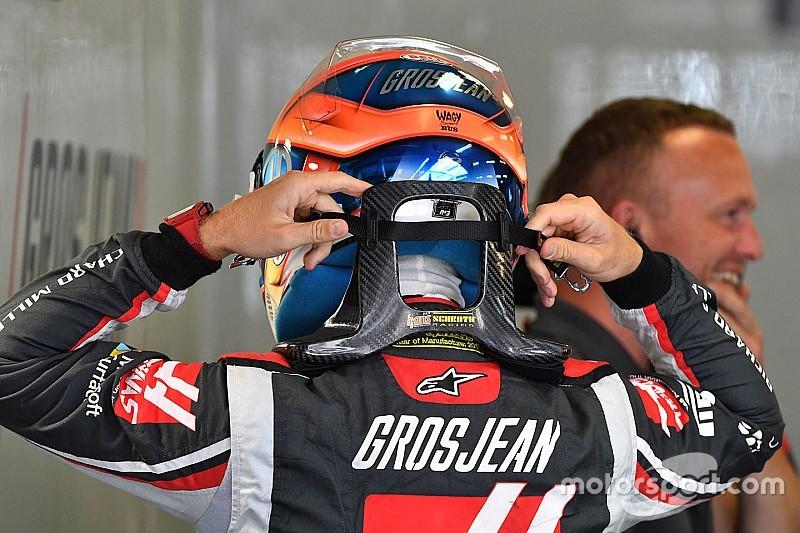 Így szórakoztatja magát Grosjean