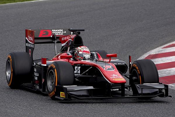 McLaren destekli Matsushita F2 testinin ilk gününü zirvede tamamladı