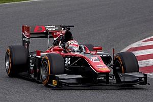 F2 Testbericht F2-Test in Barcelona: Nobuharu Matsushita an der Spitze von Tag 1