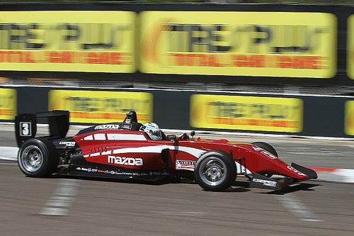 St Pete USF2000: Askew scores first win as Thompson falters