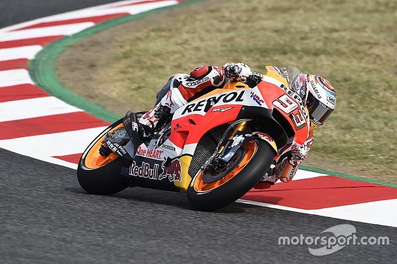 MotoGP 2017 in Barcelona: Marquez erneut vorn, Folger starker 3.