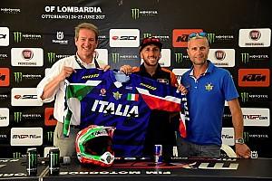 Mondiale Cross MxGP Ultime notizie Al GP di Lombardia è stata presentata la Maglia Azzurra 2017