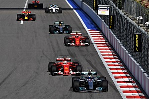 Formula 1 Breaking news Formula 1 overtaking slumped by half in 2017