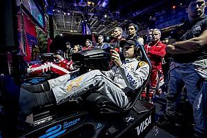 Virtual Breaking news Huis rebut hadiah Rp 2,7 miliar dari balapan virtual Vegas eRace