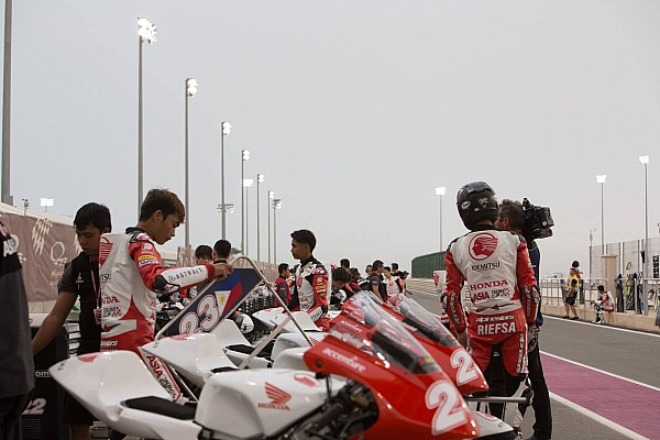 ATC Breaking news Hujan deras, Race 1 Asia Talent Cup Qatar dibatalkan
