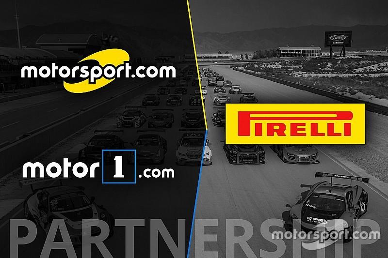 Pirelli World Challenge announces partnership with Motorsport Network