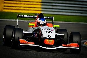 Formule Renault Interview Opname in Renault Sport Academy heeft Opmeer geholpen