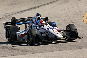 "IndyCar Breaking news Ed Jones ""finding the limit"" of an IndyCar"