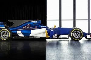 2017 против 2016: сравнение новой машины Sauber с прошлогодней