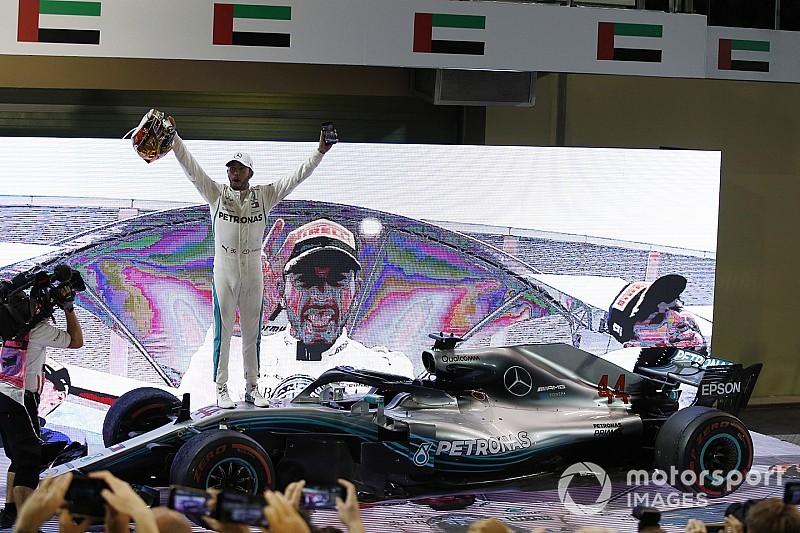 Hamilton fecha temporada com nova vitória no GP de Abu Dhabi
