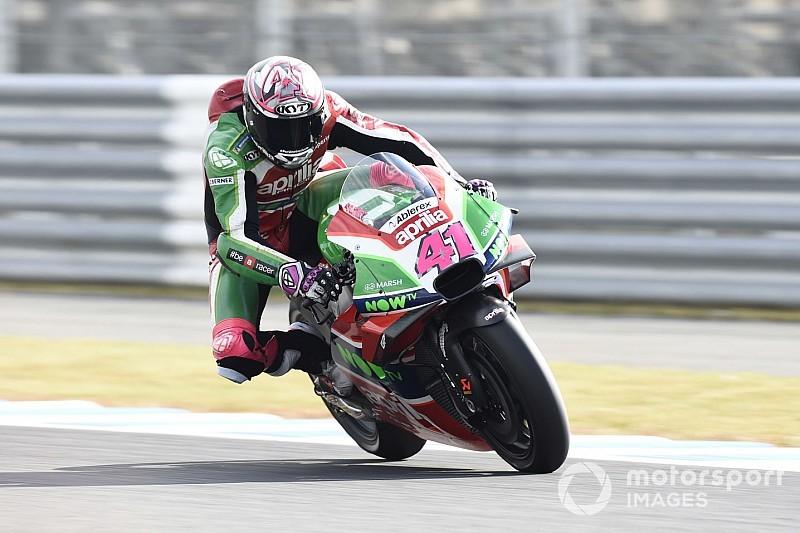 Aprilia tiene que cambiar la moto completamente para 2019, resalta Espargaró