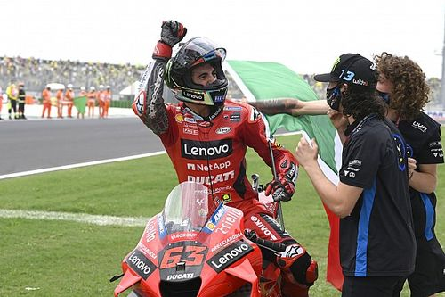Fotogallery MotoGP: tripudio Ducati-Bagnaia nel GP di San Marino