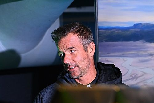 Rally legend Sebastien Loeb tests M-Sport 2022 WRC Puma in Spain