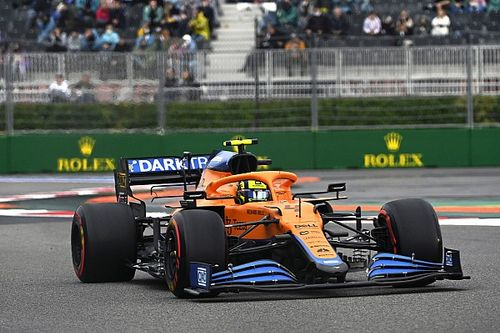 """Norris """"risked quite a bit"""" on Sochi Q3 lap for Russian GP pole"""