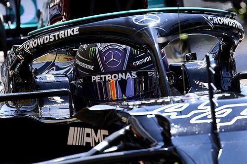 F1: Hamilton passa mal após corrida e é atendido por médico da Mercedes