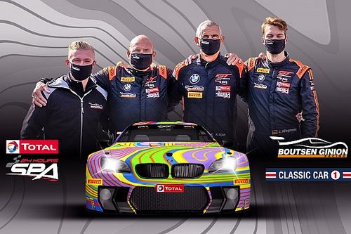 24h di Spa: Boutsen Ginion presenta una BMW M6 'Art Car'