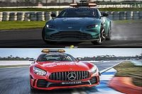 Safety Car para la F1 2021: ¿rojo Mercedes o verde Aston Martin?