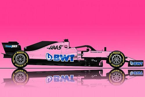 """今季もF1で""""ピンクカラー""""が見られる? BWTがハース、ウイリアムズと交渉か"""