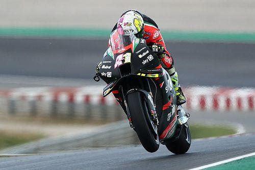 """""""Not fair"""" Aprilia fast in MotoGP after Gresini death - Espargaro"""