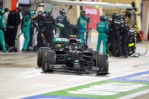 F1: Entenda por que a Mercedes decidiu trocar apenas três pneus em pit stop de Bottas