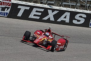 IndyCar Practice report Ganassi cars dominate practice at Texas