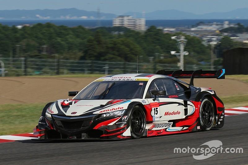鈴鹿1000km予選:NSXが今季初ポール。GT-R勢が2番手・3番手につける