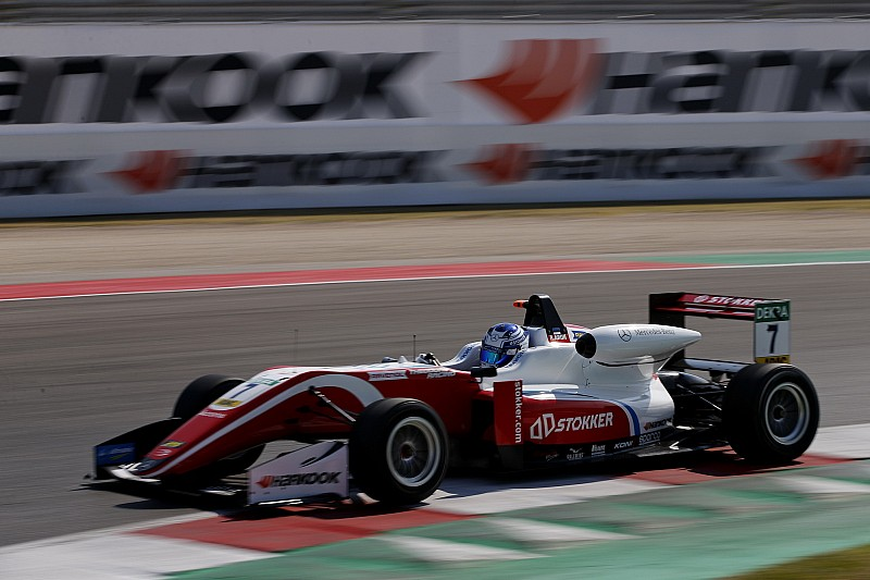 Misano F3: Aron wins, Armstrong taken out