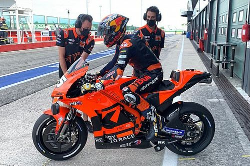 Raul Fernandez e Gardner già al lavoro sulla KTM MotoGP