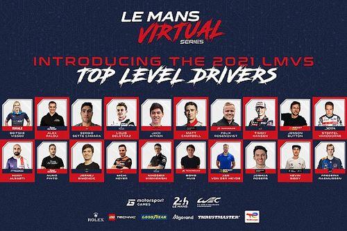 2021-2022年ル・マン・バーチャル・シリーズ、参戦ドライバーのエントリーリストを発表