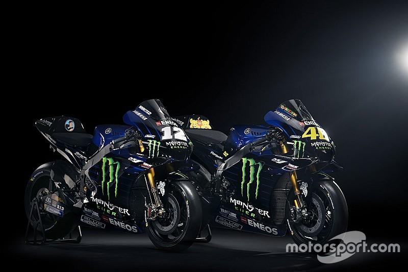 Galería: la Yamaha de Rossi y Viñales desde todos los ángulos
