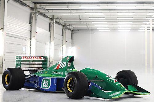 La Jordan 191 qui a vu débuter Schumacher est en vente
