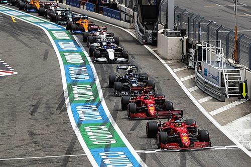 Положение в общем зачете Формулы 1 после Гран При Франции